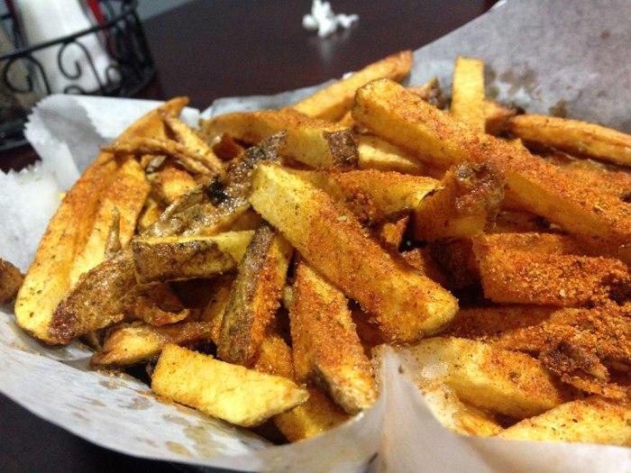 Old Bay fries from Sophia's Italian Restaurant & Pizzeria, Reading, Pa.