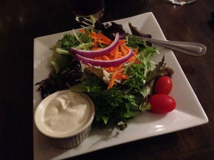 House Salad at the Franklin House Tavern