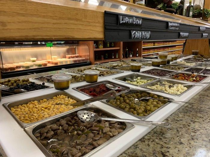 Russo Market Olive Bar