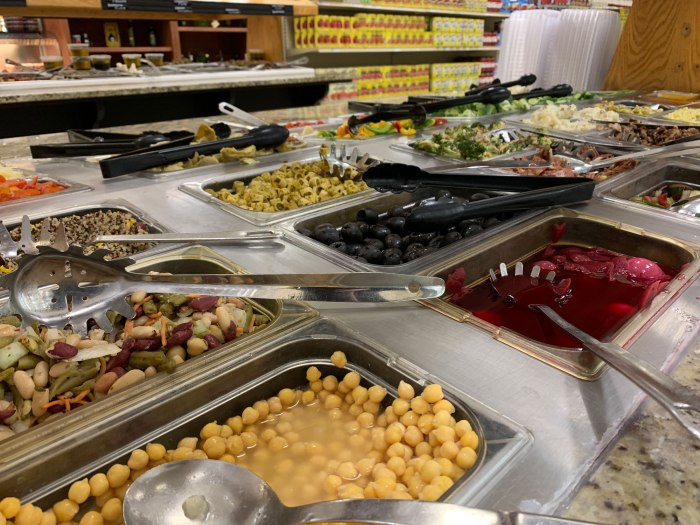 Russo Market Salad Bar