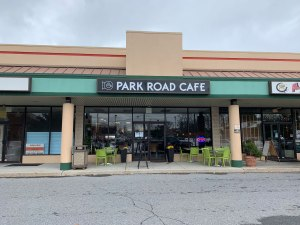 Photo of the exterior of Park Road Cafe in Wyomissing