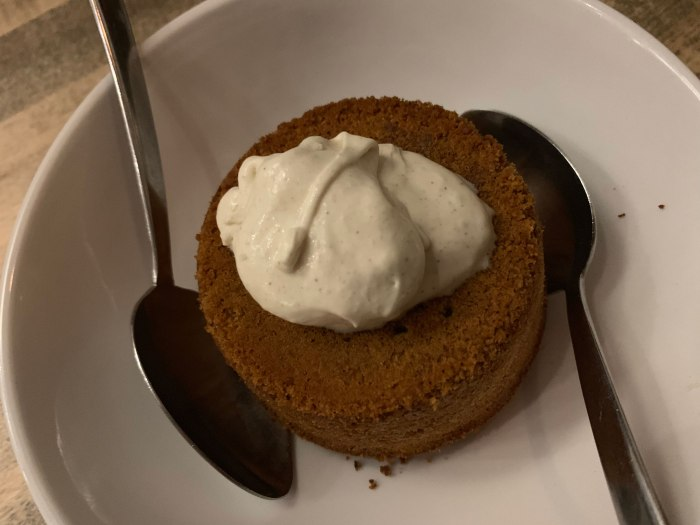 Fork & Ale Butterscotch Lava Cake