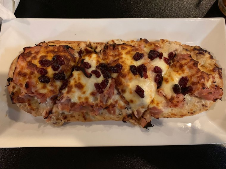 1787 Brewing Company Honey Ham Flatbread
