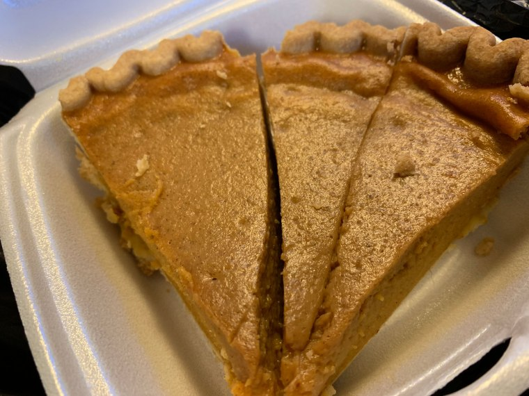 Mecca Caribbean and Soul Food Pumpkin Pie