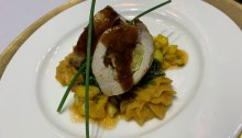 Chef Tim Twiford's Stuffed Pork Chops