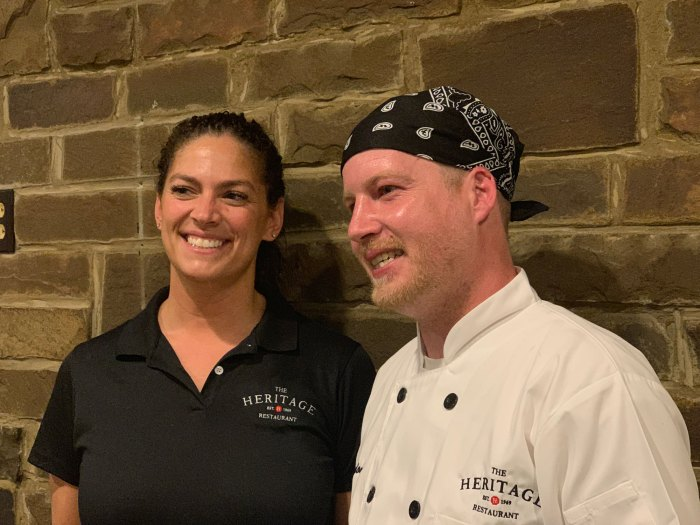 Owner Tamara King and Chef Brandon Pennypacker