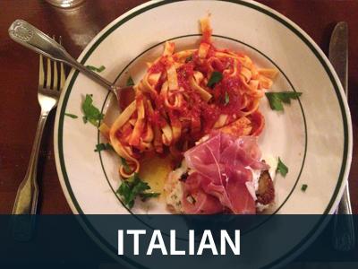 Italian Restaurants Button