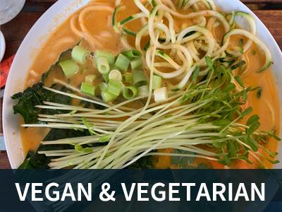 Vegan and Vegetarian Button