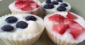 frozen yoghurt, fro yo, healthy treat, ice cream alternative, colourful party food