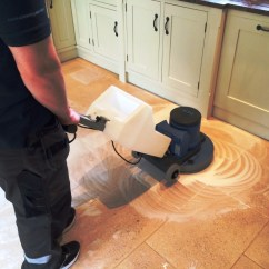 Cleaning Kitchen Floors Grey Cabinet Ideas Deep Dirty Limestone Floor In Crookham During