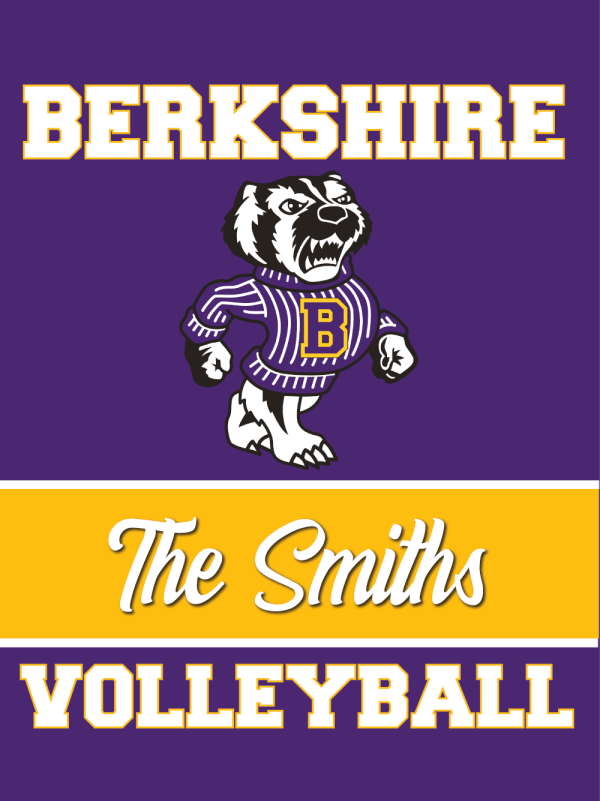 Berkshire Volleyball House Flag