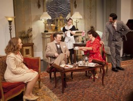 Private Lives at Shakespeare & Company. KevinSprague photos.
