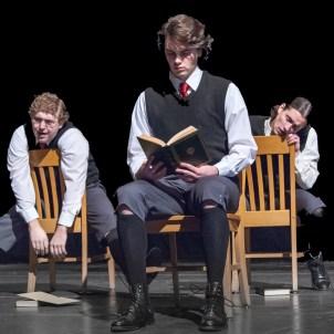 (L to R) Matt McFadden (Georg), Lucas Phayre-Gonzalez (Melchior), Otto (Ethan Botwick)