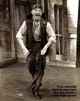 Rose as Doolittle in the 1976 Broadway revival of My Fair Lady which won him his first Tony.