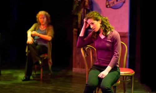 Tod Randolph (l) as Zelda and Bridget Saracino (r) as Rachel. Photo by John Dolan.