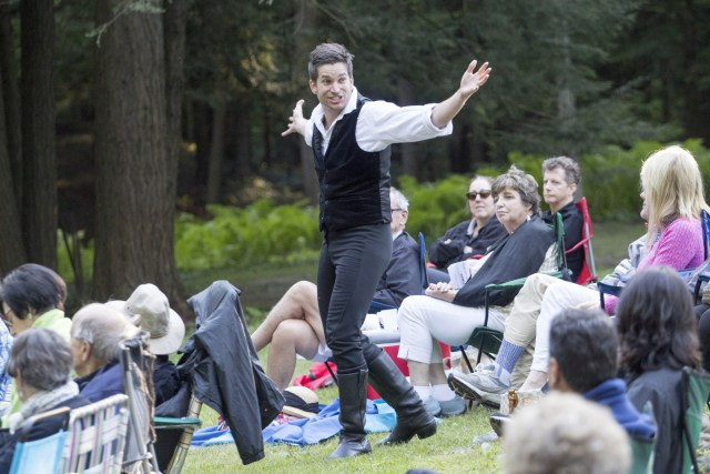 Luke Reed's Hamlet takes his story directly to the audience  for an intense live theatre experience.