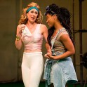 (l to r) Kelley Curran as Adriana and Cloteal L. Horne as Luciana.