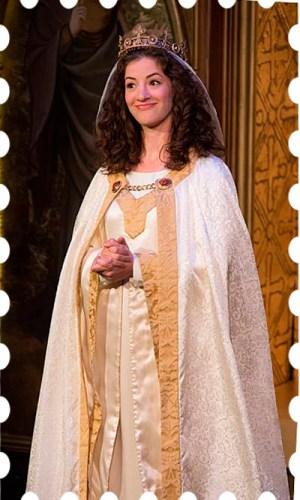 Bridget Saracino as St. Catherine.