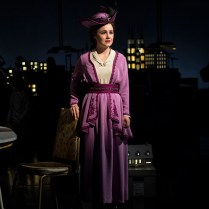 Lauren Worsham (Lucy Lemay). Photograph Paul Fox.