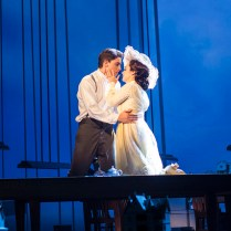 Derek Klena (Francis Grand) and Lauren Worsham (Lucy Lemay). Photograph Paul Fox.