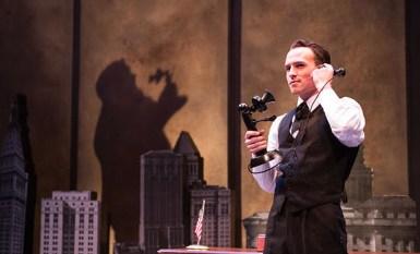 Austin Lombardi as Fiorello LaGuardia. Photo by Emma Rothenberg-Ware.