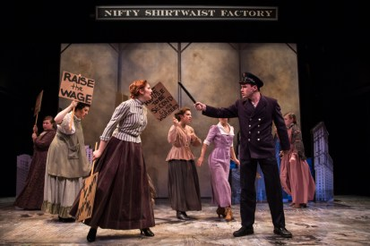 Chelsea Groen and Dan Cassin in Fiorello. Photo by Emma Rothenberg-Ware.