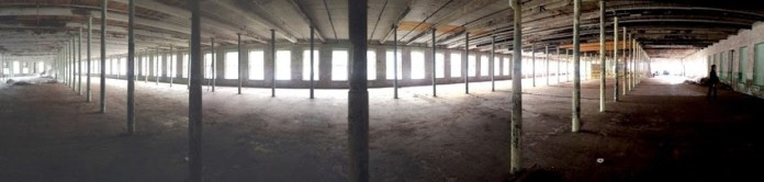Panoramic view of the largest of the new spaces.