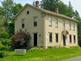 The Susan B. Anthony birthplace in Adams.