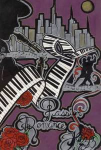 Molly Rose Morgan entry in Berkshires Jazz art contest