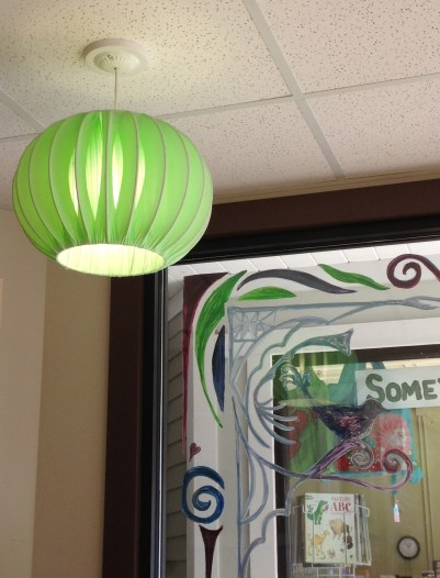 """Lamp """"Bonnet"""" at the Cup and Top"""