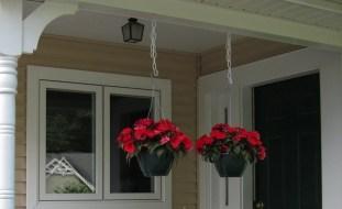 Front porch, August