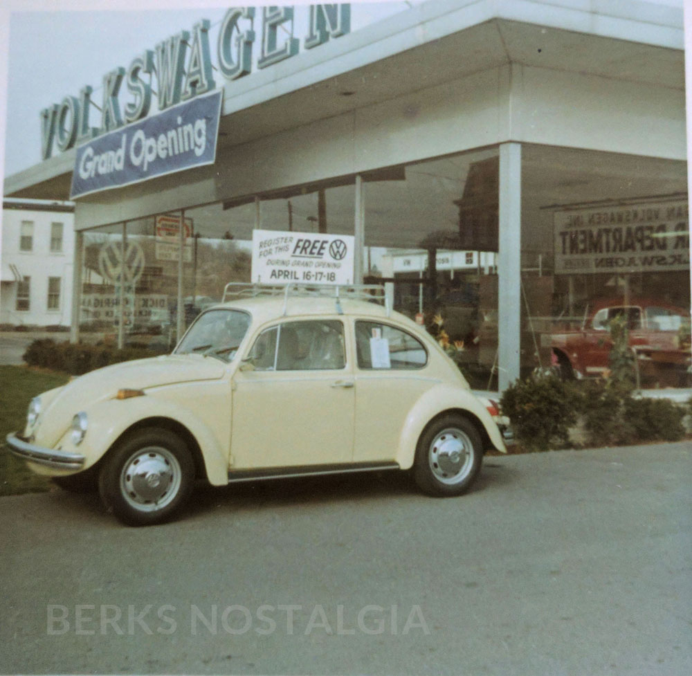 Volkswagen Dealership: Volkswagen Dealership - 1211 Lancaster Ave - 1960s