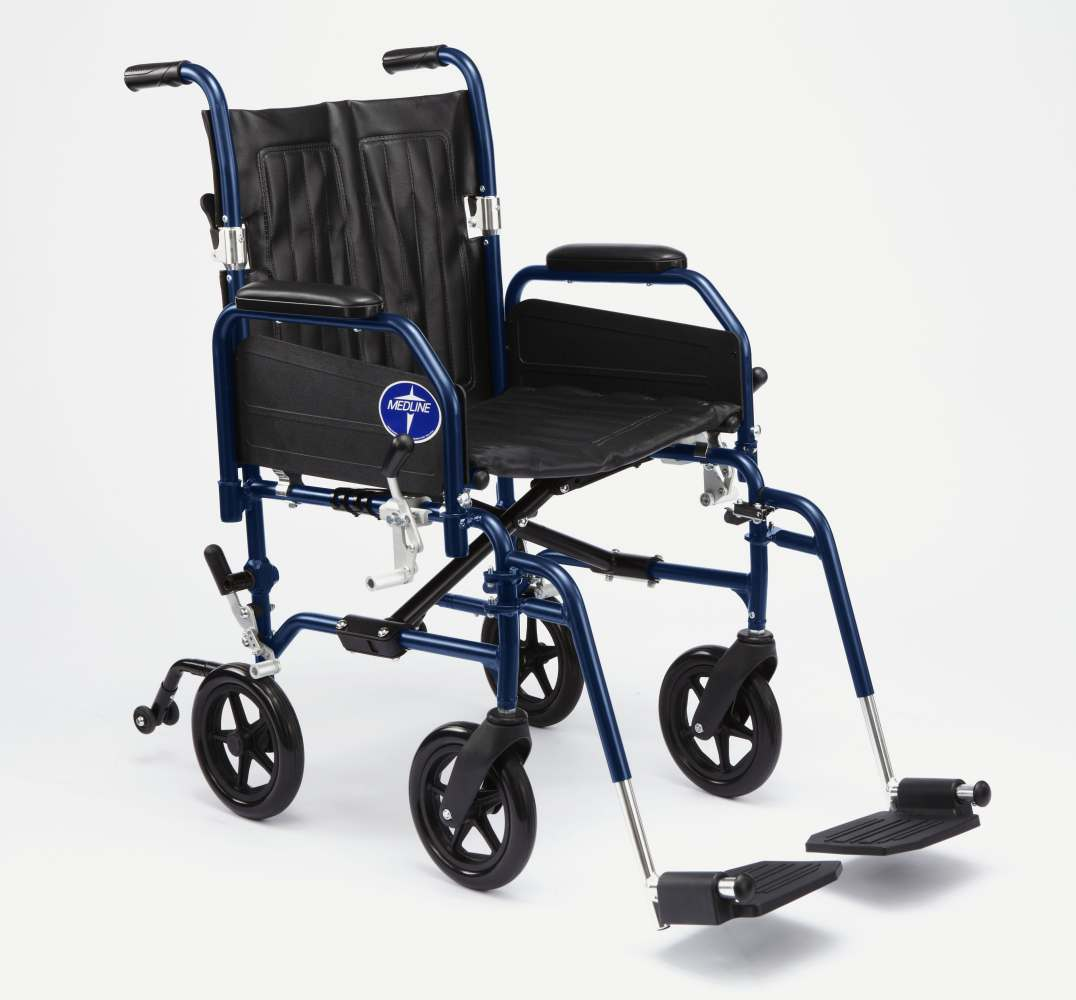 Narrow Chair Medline Excel Hybrid 2 Transport Wheelchair Chair Narrow
