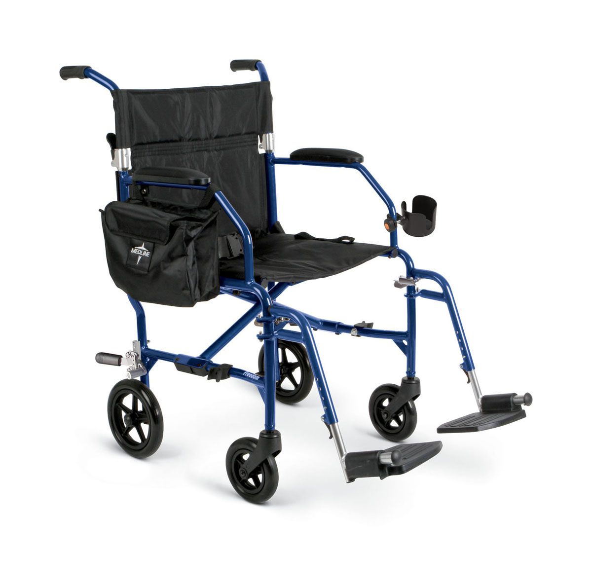 Transport Chairs Medline Freedom Transport Chair Wheelchair Freedom 2