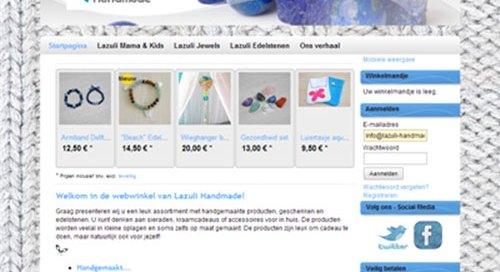 Screenshot Lazuli v1