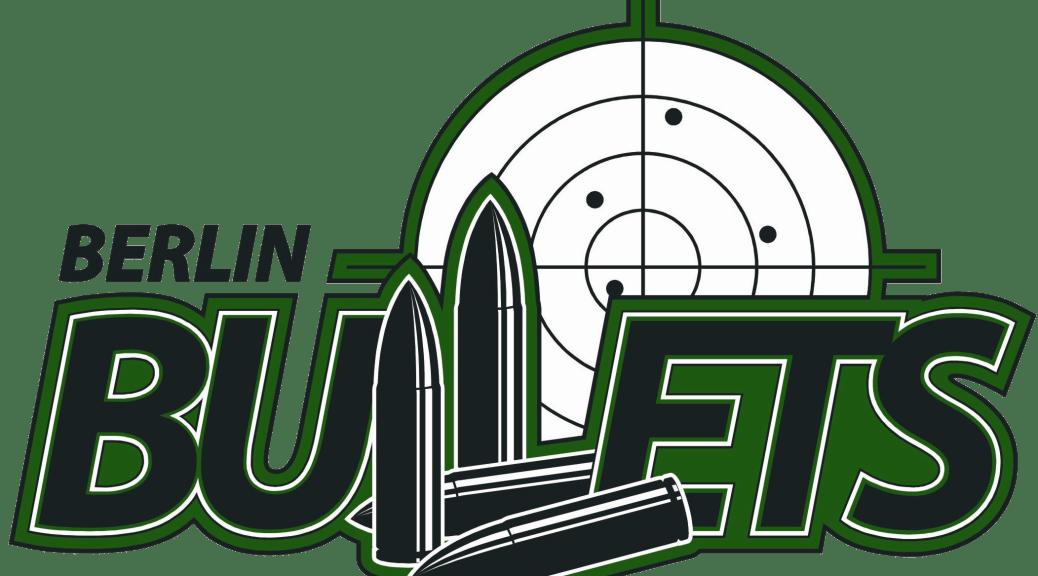 zeigt das Logo der Berlin Bullets