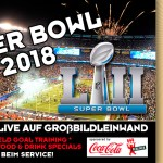 Super Bowl 2018 im Play Off Marzahn