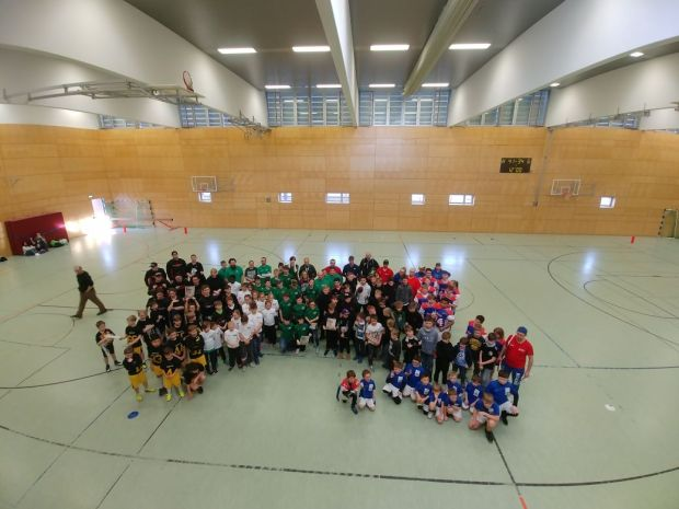 Bullets Indoor Flag Bowl 2018 alle Teams