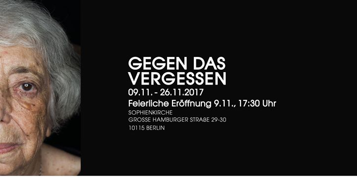 Gegen das Vergessen in Berlin