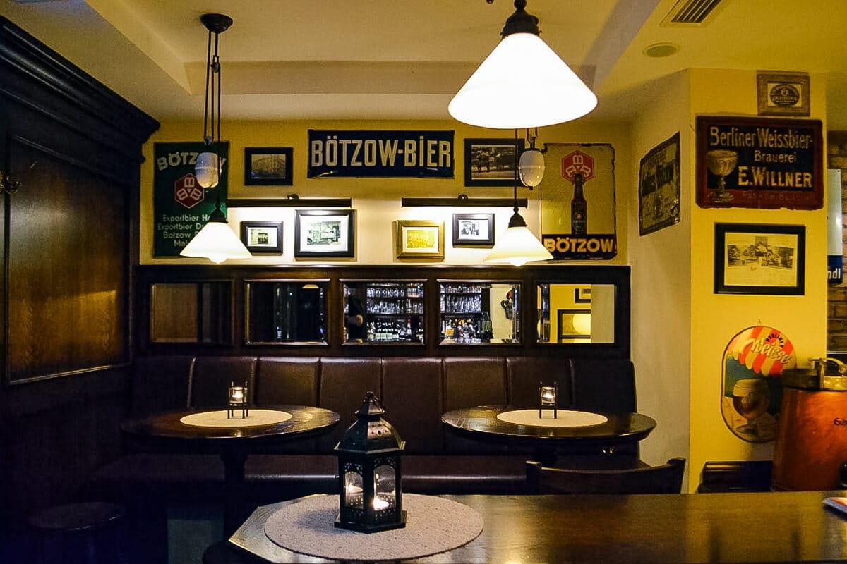 Restaurant Berlin Deutsche Kuche Restaurant Nobelhart And