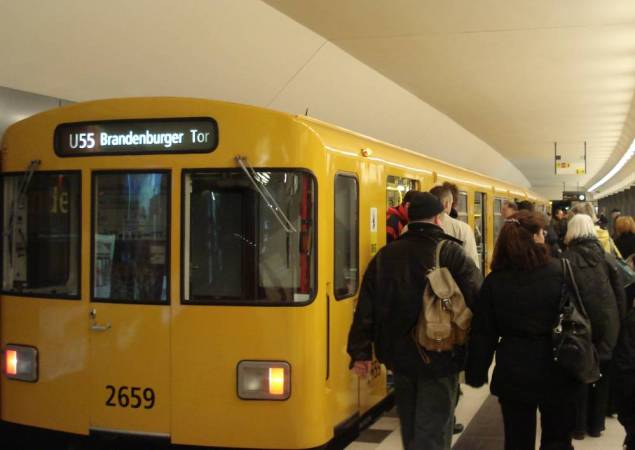 UBahn station Brandenburger Tor