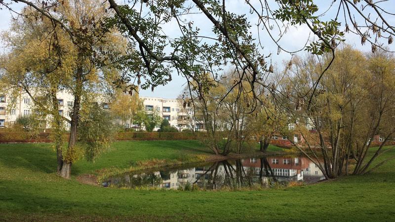 Hufeisensiedlung. Foto: Kirsten Andersen