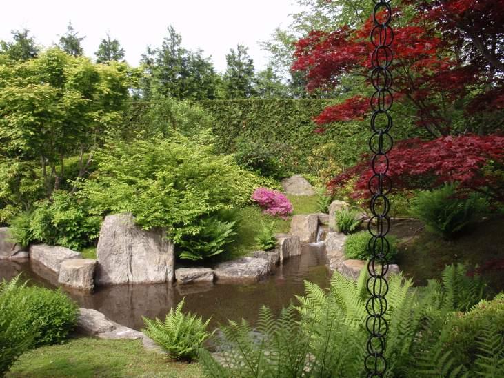 Den japanske have i Gärten der Welt