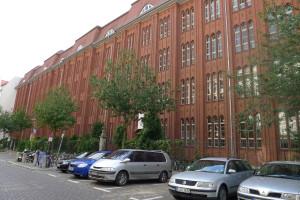 Skole fra 1908 i Christburger Strasse,    Prenzlauer Berg. Foto: Rikke Lyngsø Christensen