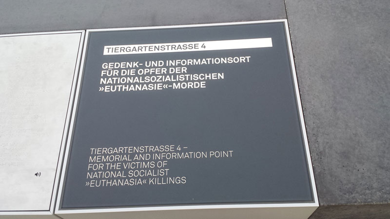 Gedenk- und Informationsort für die Opfer der nationalsozialistischen »Euthanasie«-Morde. Foto Kirsten Andersen
