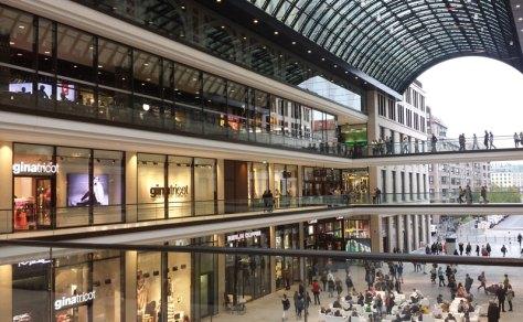 Mall of Berlin. Foto: Kirsten Andersen