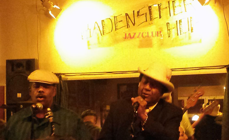 Eb Davis og Superband i Badenscher Hof. Foto: Kirsten Andersen