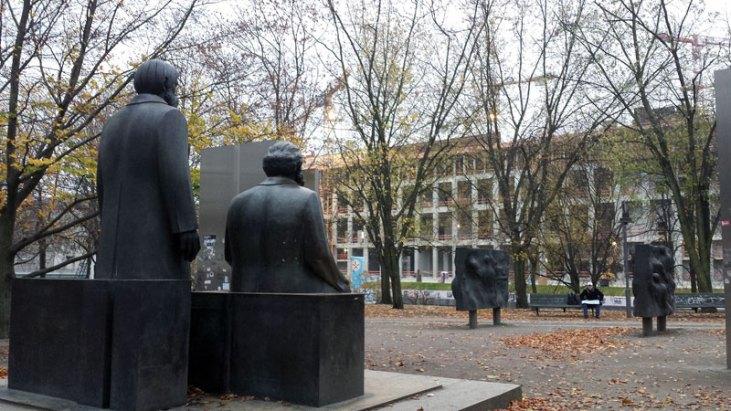 Marx Engels Forum 2014. Foto: Kirsten Andersen