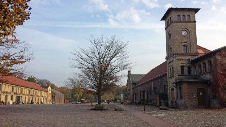 Gutshof Britz med  bl.a. Museum Neukölln. Foto: Kirsten Andersen