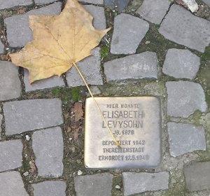Stolperstein. Giesebrechtstrasse. Foto: Kirsten Andersen